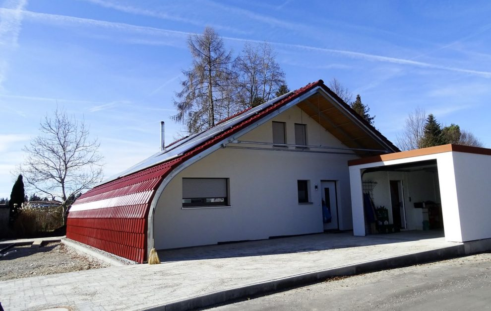 Energiesparhaus im Chiemgau, Oberbayern