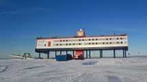 Neumeyer-Station III des Alfred-Wegener-Instituts in der Antarktis