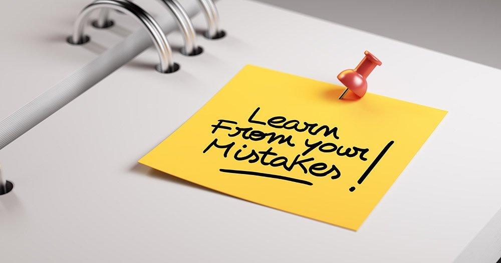 Aus Fehlern Lernen