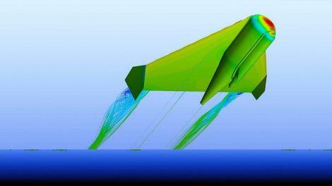 Roboter-Flugfisch