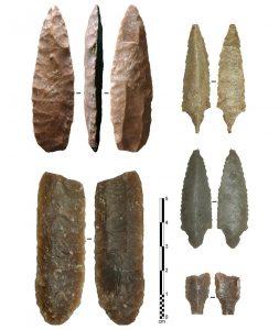 Steinspitzen aus dem Jemen
