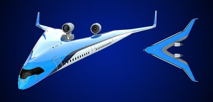 Airbus Nurflügler