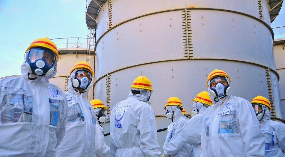 Tanks in Fukushima