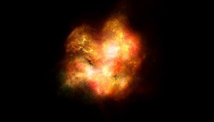 Frühe Galaxie