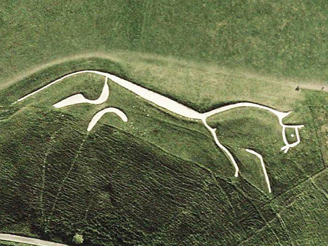 Uffington-Pferd