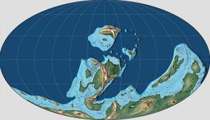 Erdplatten vor 400 Millionen Jahren