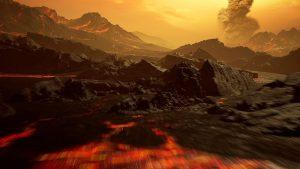 Oberfläche von Gliese 486b