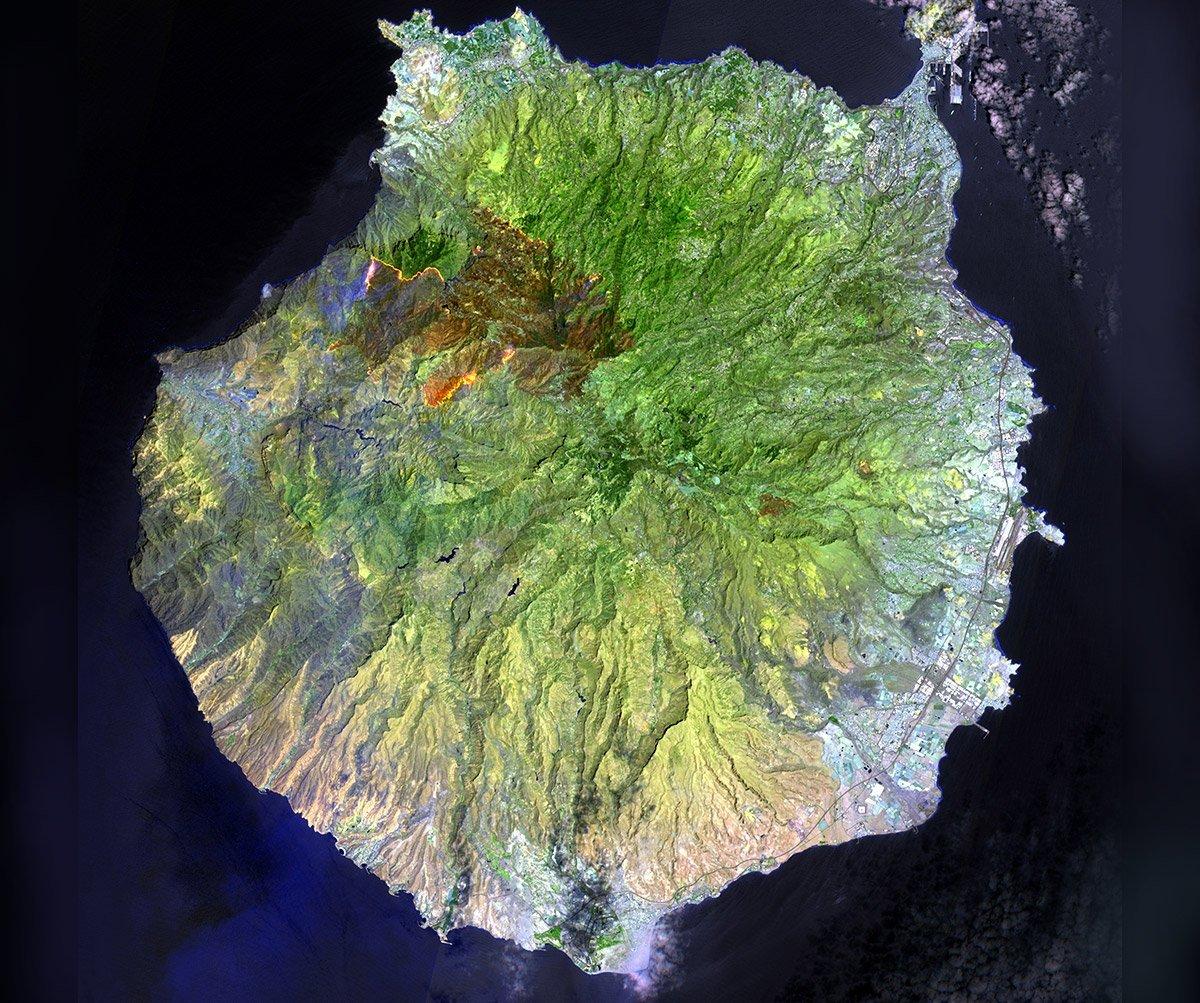 Gran Canaria: Spur des Feuers