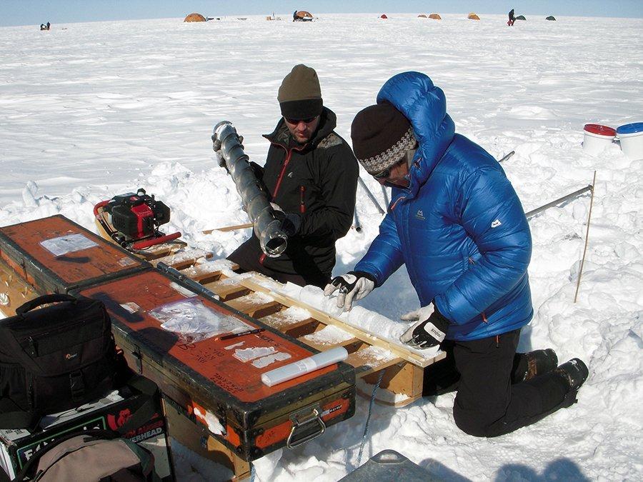 Grönland Bohrkerne