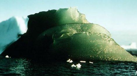 Grüner Eisberg