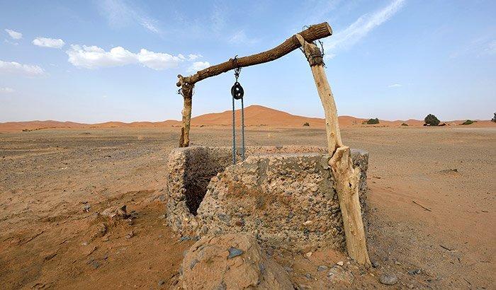 Brunnen in der Wüste