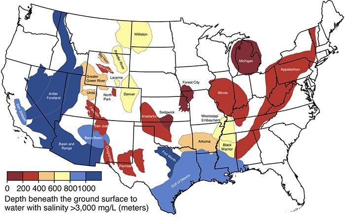Reservoire in den USA