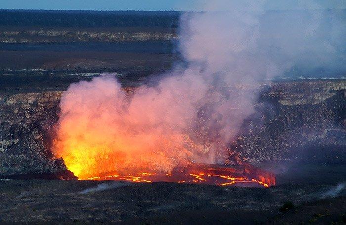 Kilauea-Krater
