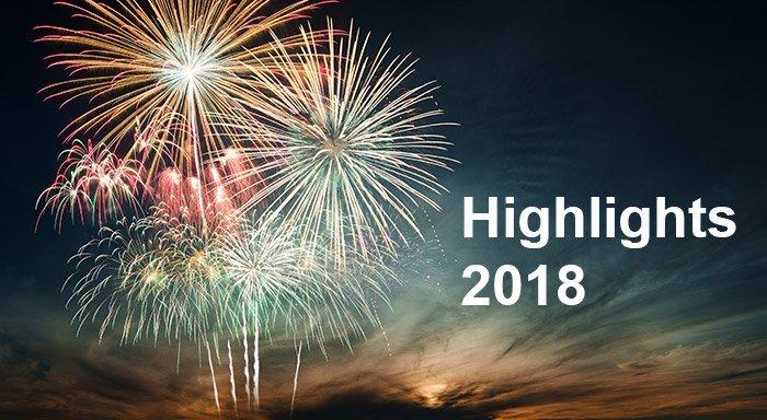 Highlights des Jahres 2018