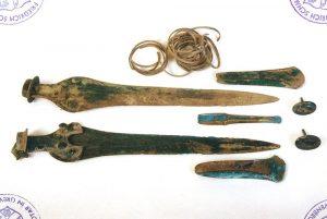 Bronzezeitwaffen