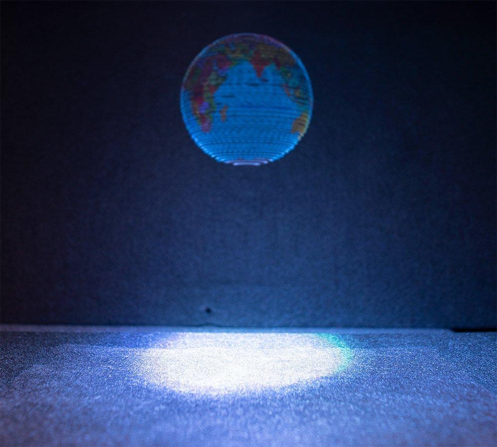 Hologramm-Globus