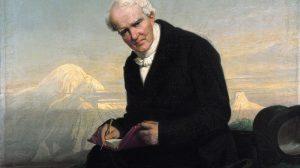 Alexander von Humboldt, Porträt von J. Schrader (1859)