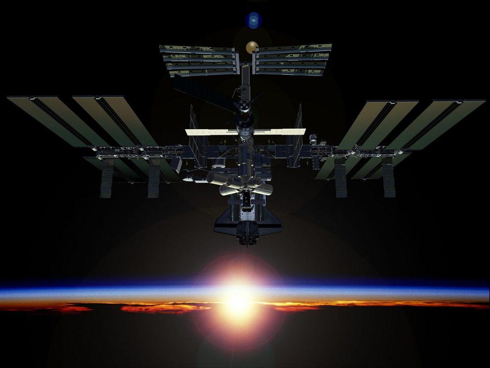 ISS, digital artist's concept