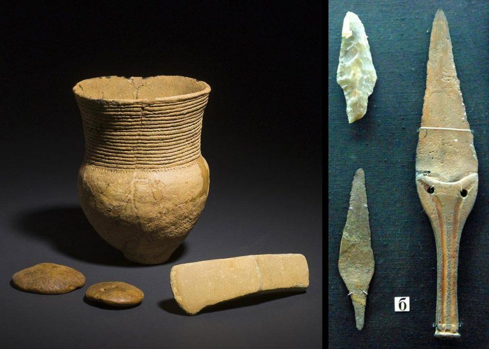SChnurkeramik und Jamnaja-Funde