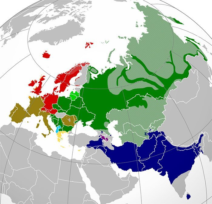 indoeuropäische Sprachen