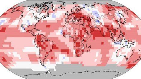 Temperatur-Anomalien Juni 2019