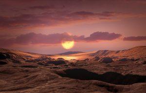 Kepler-1649c Oberfläche
