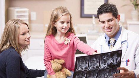 Knochenwachstum Kinder
