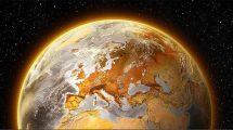 Warme Erde