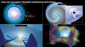 Kollisions-Supernova