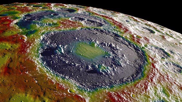 lunarer Südpol