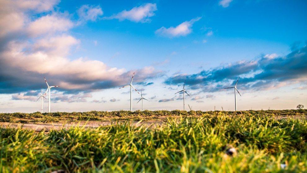Symbolbild Windfarm
