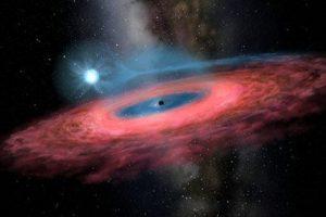 Schwarzes Loch LB-1