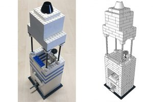 Lego-Mikroskop