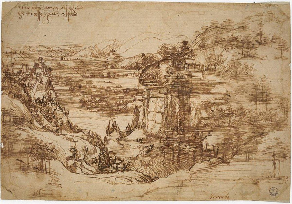 Landschaft P8