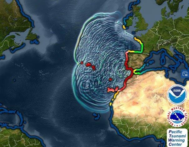 Tsunami 1755