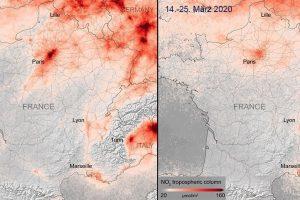 Stickoxide Frankreich