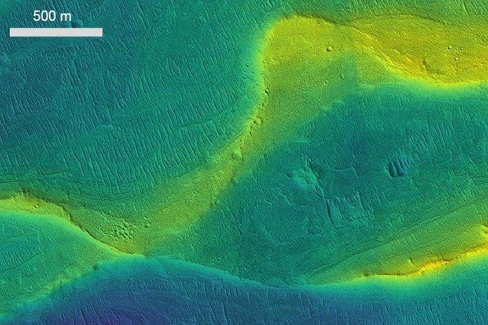Marsflüsse
