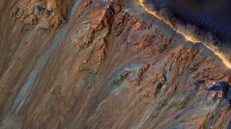 Mars-Rinnsale