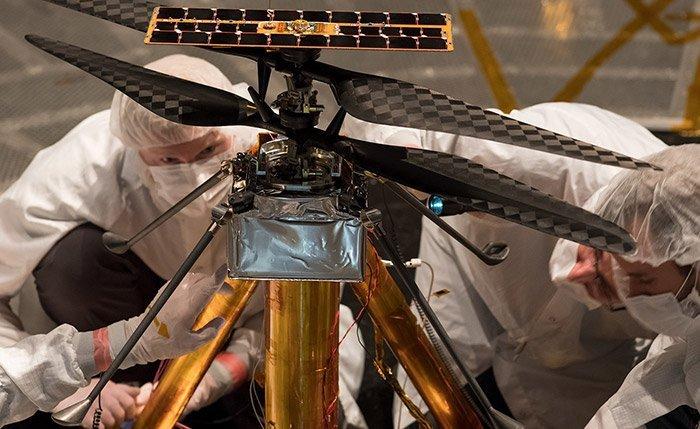 Mars-Hubschrauber