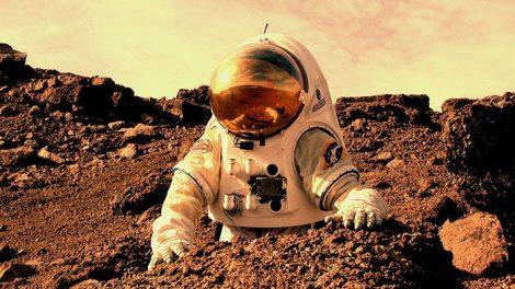 Mars-Astronauten