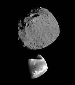 Phobos und Daimos