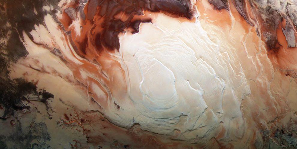 Mars Südpol