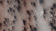 Mars-Spinnen