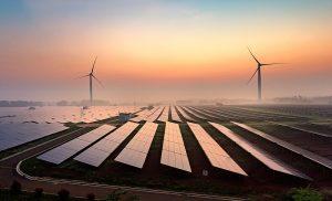 Sonnen- und Windenergie