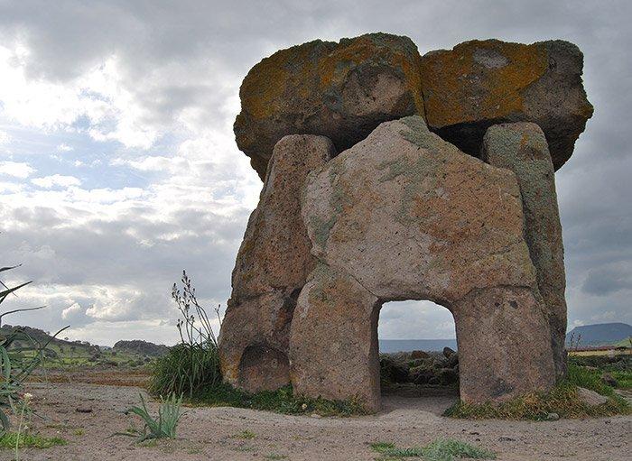Megalithgrab auf Sardinien