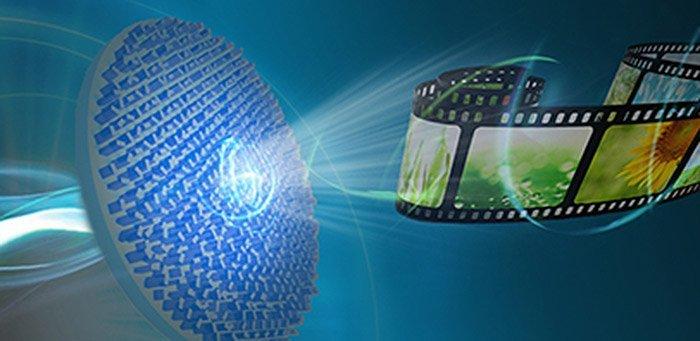 Hologramm-Video