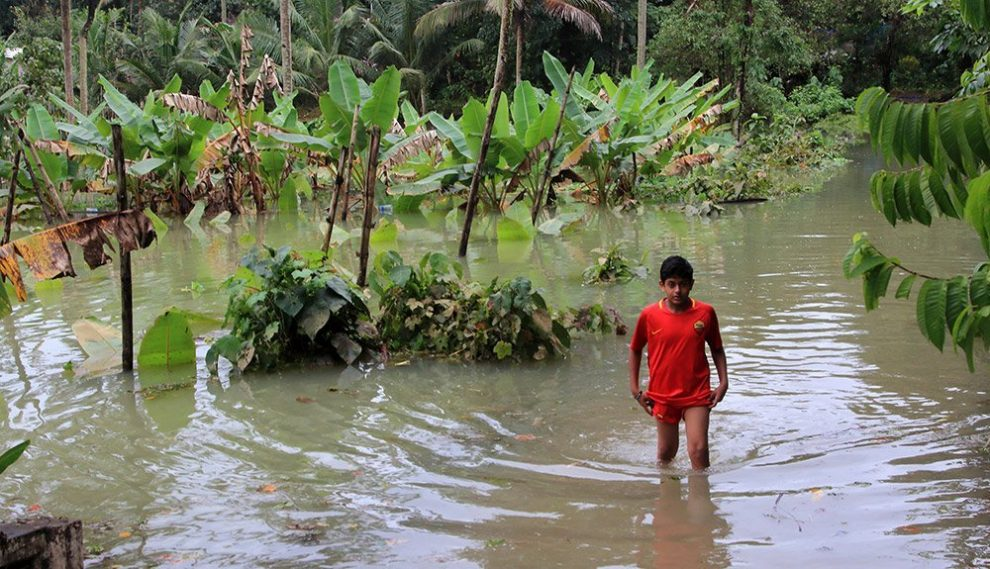 Überschwemmung in Kerala