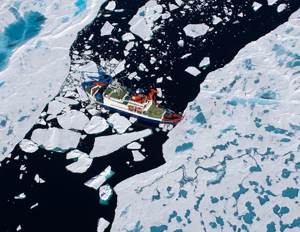 Polarstern im Nordpolarmeer