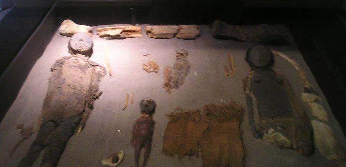 Chinchorro-Mumien