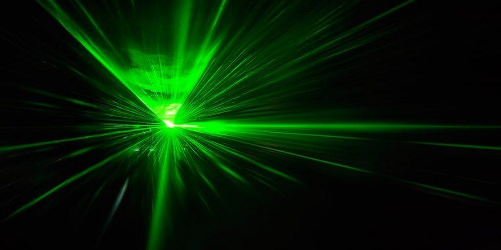 Grüner Laser